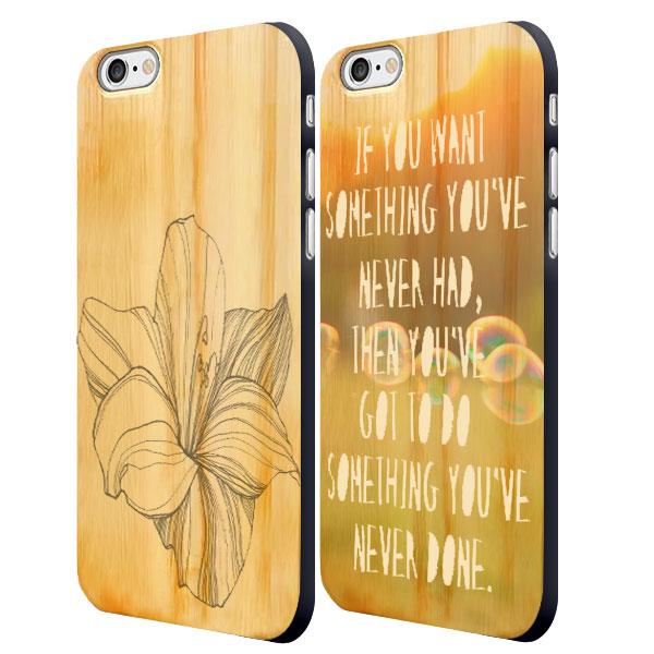 iPhone 6 houten case