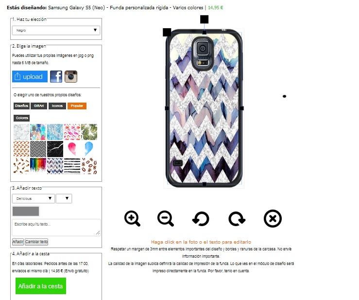 Galaxy S5 hoesje maken
