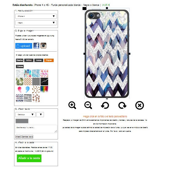 iPhone 4s softcase