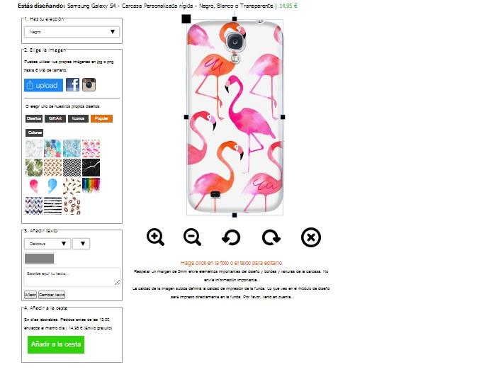 Samsung Galaxy S4 Hardcase hoesje ontwerpen zwart wit of transparant