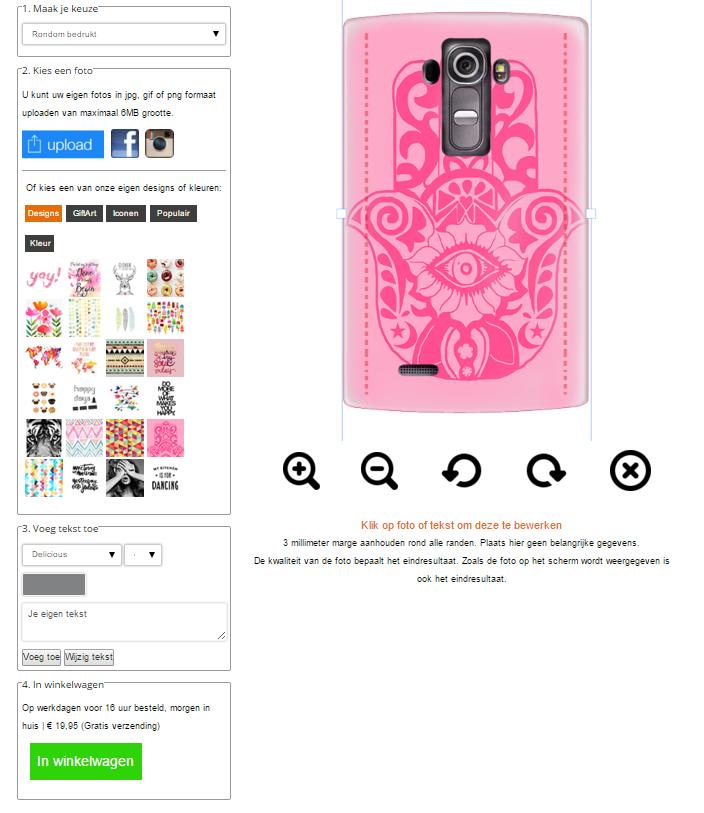 LG G4 hoesje met foto