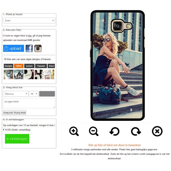 Galaxy A5 hoesje maken