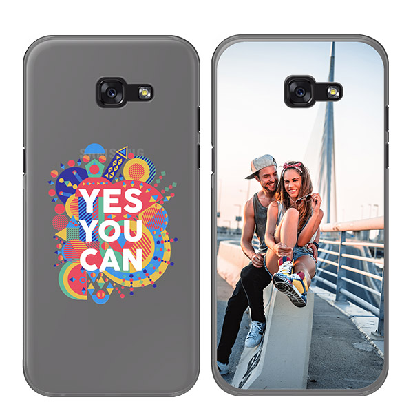 galaxy A5 softcase met foto