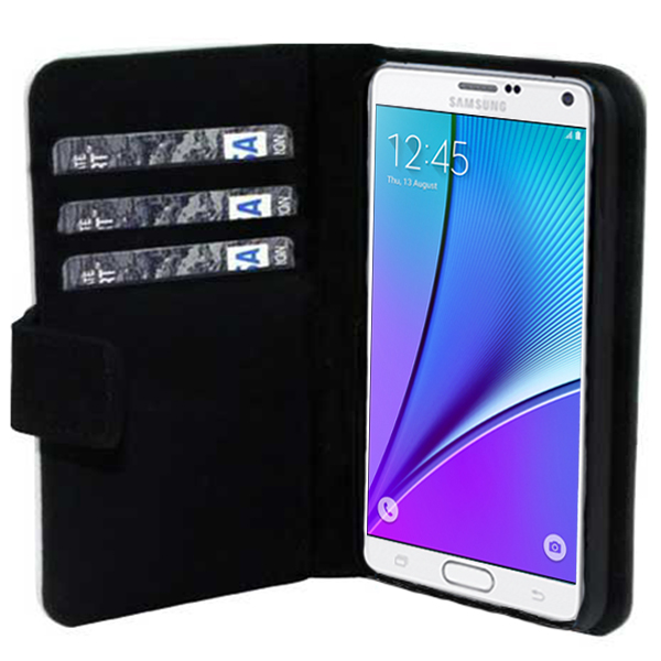 Samsung Galaxy Note 5 portemonneehoesje maken