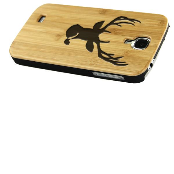 S4 bamboe hardcase maken met gegraveerd design