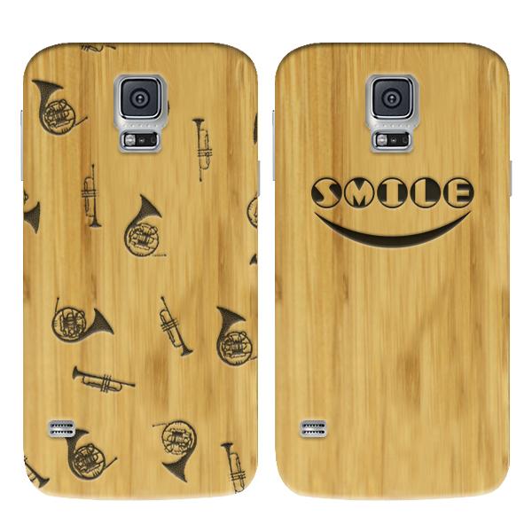 Samsung Galaxy S5 bamboe hardcase maken met gegraveerd design