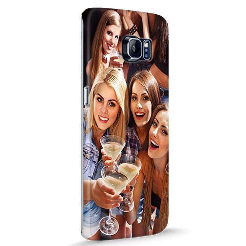 Samsung Galaxy S6 Edge Hardcase hoesje met foto