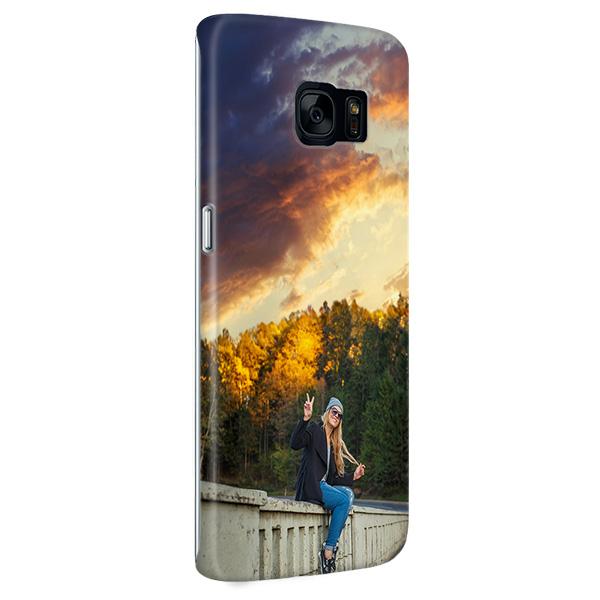 Samsung Galaxy S7 Edge Hardcase hoesje met foto