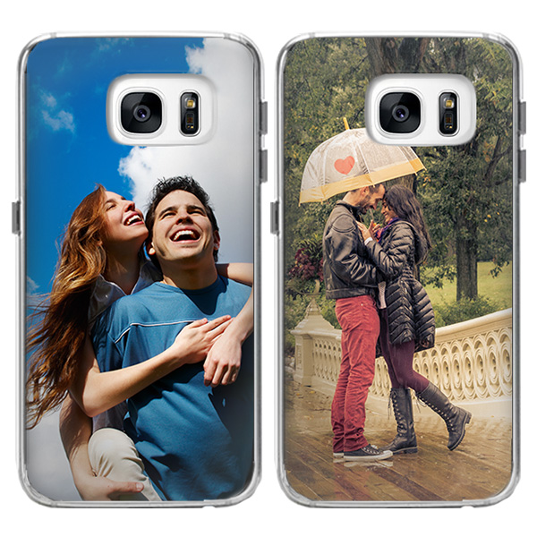 galaxy S7 softcase met foto