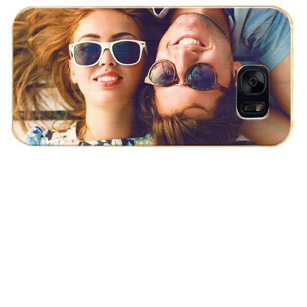 Galaxy S7 Edge wooden case