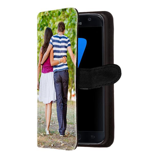 Galaxy S7 portemonnee hoesje met foto
