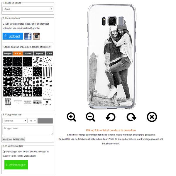 Galaxy S8 hoesje maken