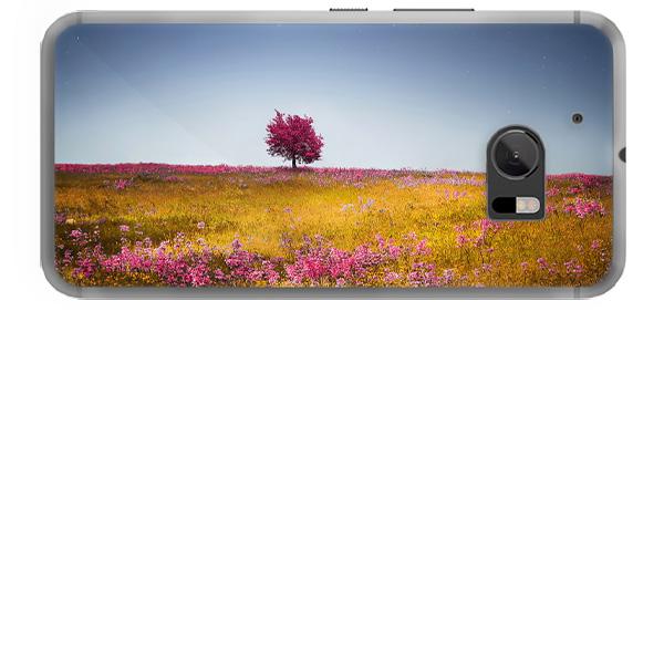 HTC 10 hardcase hoesje ontwerpen zwart
