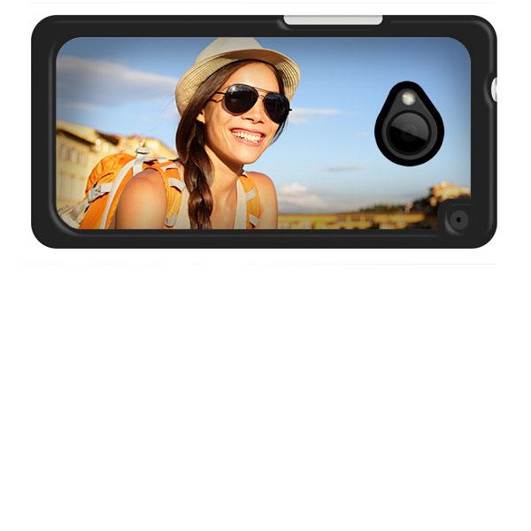 HTC One Hardcase hoesje met foto