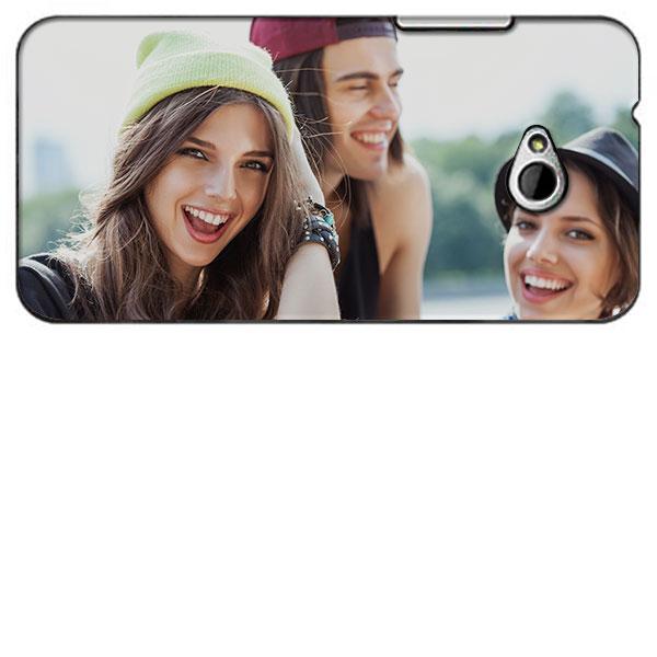 HTC One Mini 2 hardcase hoesje ontwerpen zwart