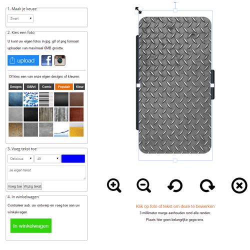 HTC One M9 Hardcase hoesje ontwerpen