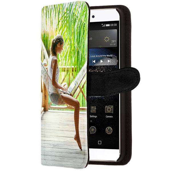 Huawei P8 portemonnee hoesje ontwerpen
