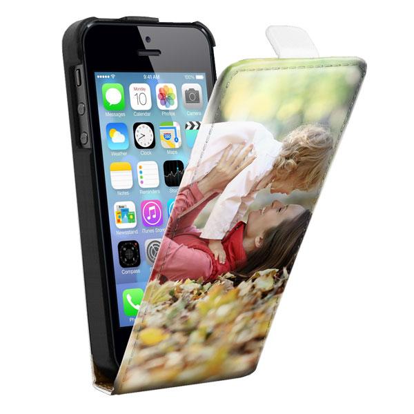 iPhone SE flipcase met afbeelding