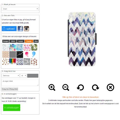 iPhone 5s walletcase maken