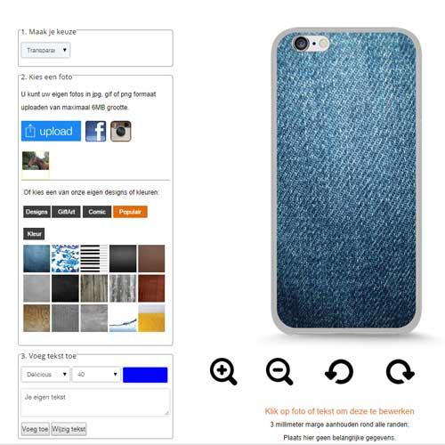 iPhone 6 plus hoesje maken met foto