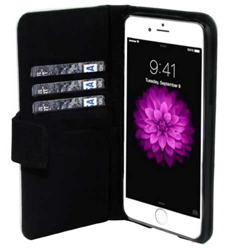 iPhone 6 PLUS portemonnee case met foto