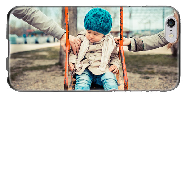 iPhone 6(S) softcase met foto