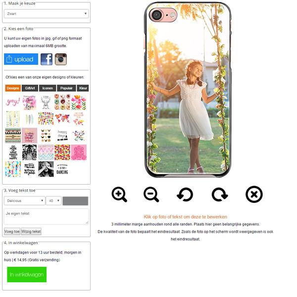 iPhone 7 case met foto
