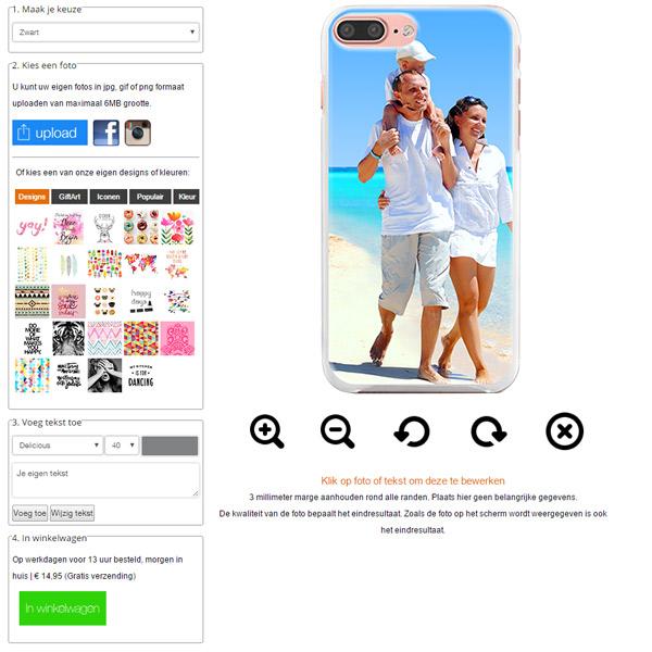 iPhone 7 PLUS case met foto