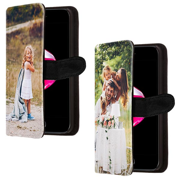 iPhone 7 walletcase met foto