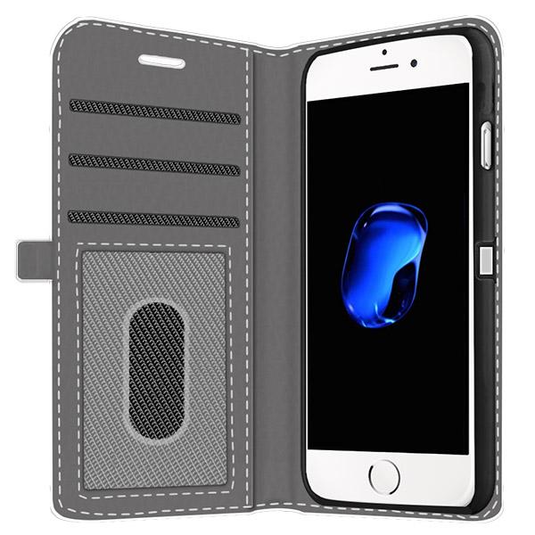 iPhone 7 walletcase met foto