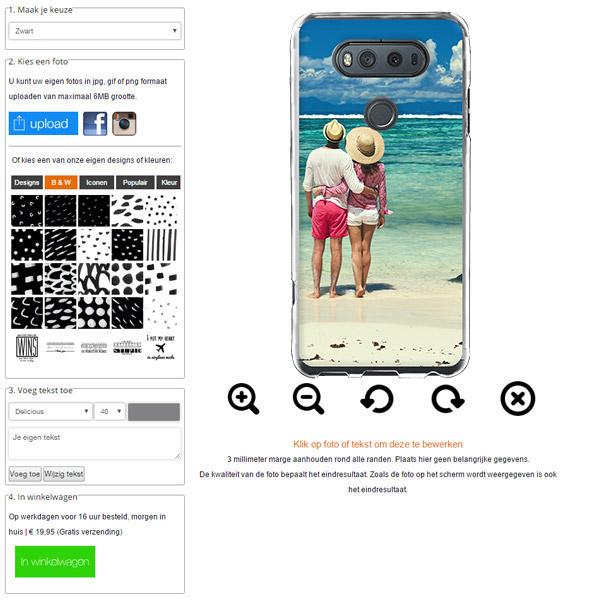 LG V20 hoesje met foto