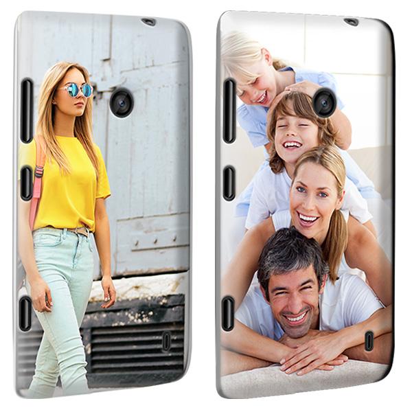 Nokia lumia 520 hardcase hoesje ontwerpen zwart, wit, transparant