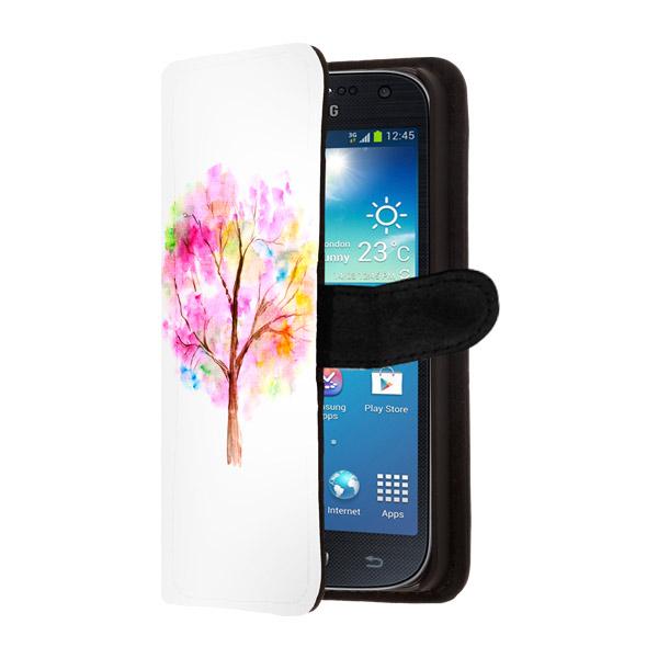 Samsung Galaxy S4 portemonneehoesje ontwerpen