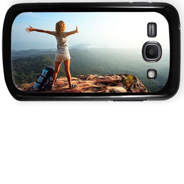 Samsung Galaxy Ace 3 Hardcase hoesje maken zwart of Wit