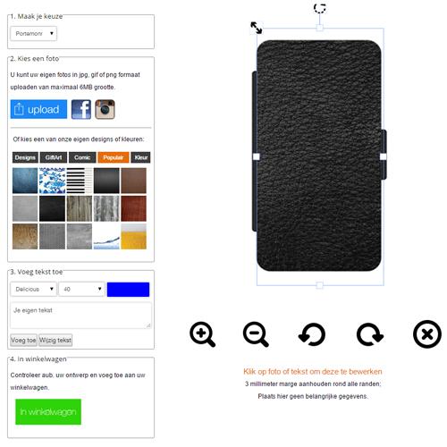 Samsung Galaxy Note 3 walletcase maken