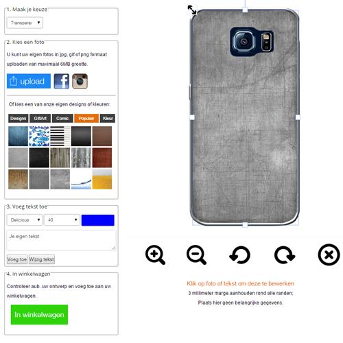 Galaxy S6 Edge hoesje maken