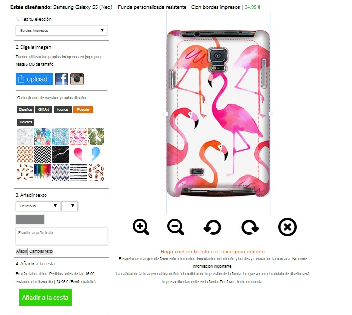 Samsung Galaxy S5 tough case maken