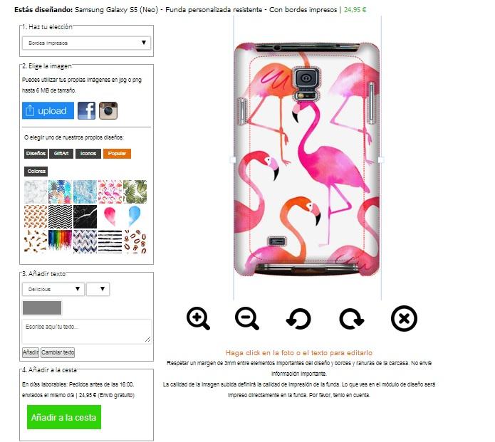 Samsung Galaxy S5 tough case maken