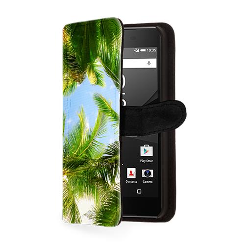 Sony Xperia Z5 Compact telefoonhoesje maken zwart