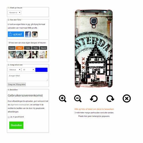 Samsung Galaxy S4 mini Hardcase hoesje ontwerpen