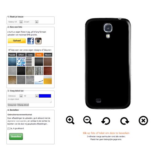 Galaxy S6 hoesje maken